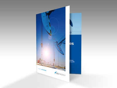 Asc Energy oil-trading print brochure