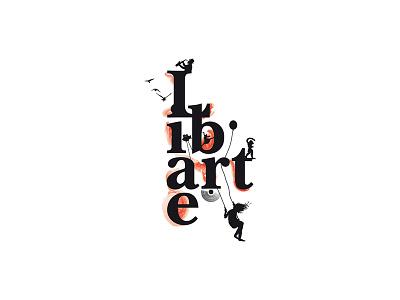 Libarte event-production arts logo libarte