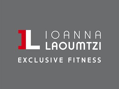 Ioanna Laoumtzi fitness logodesign