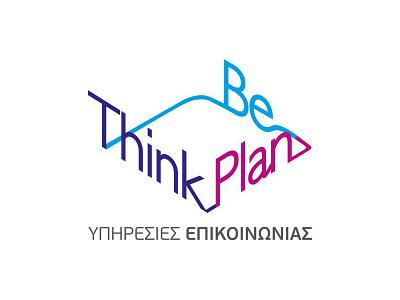 Think Plan Be graphic design mark logo