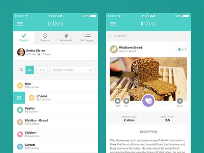 Inlivo Health App inlivo mobile app health