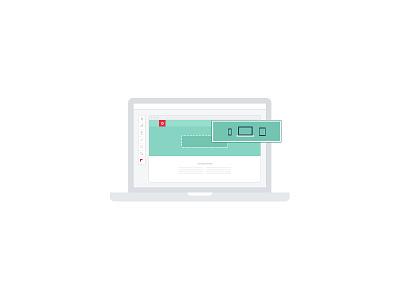 Odd Web Design icon design flat