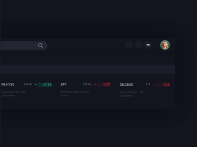 Chart cards - header on site animation cards app tradingview concept crypto chart trading figma ux ui