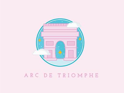 arc de triomphe freebie