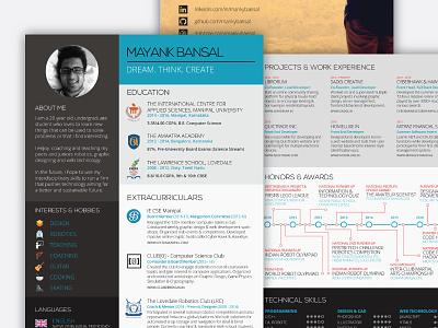 Resume / Portfolio illustrator portfolio resume