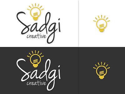Sadgi Creative Logo Revision company creative think vector revision illustrator logo
