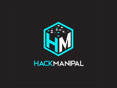 Hack Manipal Logo hackathon illustrator logo
