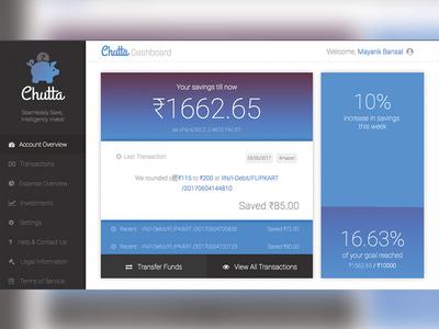 Chutta - Web User Interface