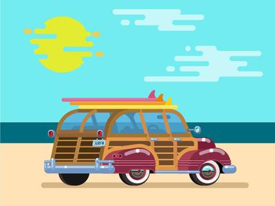 Car Surf