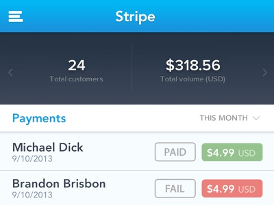 Stripe Payments stripe payments money