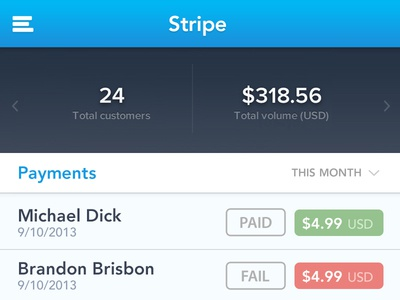 Stripe Payments stripe payments money