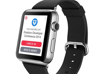 WATCH One-tap check-in apple one-tap check-in watch iwatch wearable smartwatch watchkit