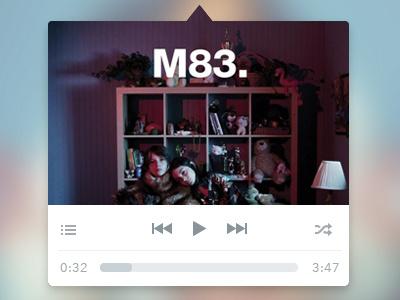 Music mini player rebound music rdio spotify menu app