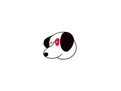 Spot illustration dog procreate