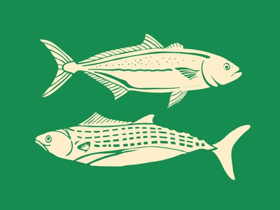 Deep Sea Fish linocut outdoors fish deep sea illustration vector