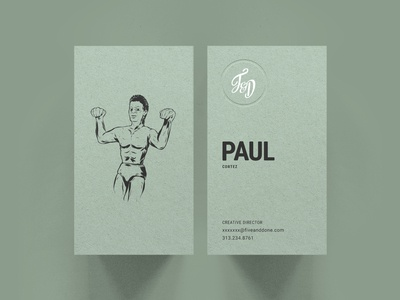 F&D Business Cards - Mitch