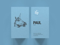 F&D Business Cards - Unicorn
