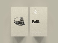 F&D Business Cards - Hat