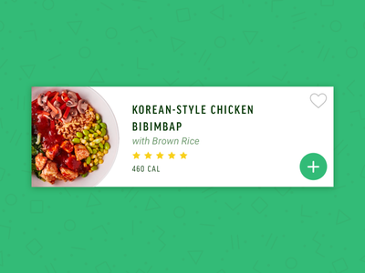 New Meal Cards! food app freshly food user experience user interface ux design uiux ui