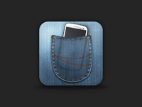 Pocket Phone Icon