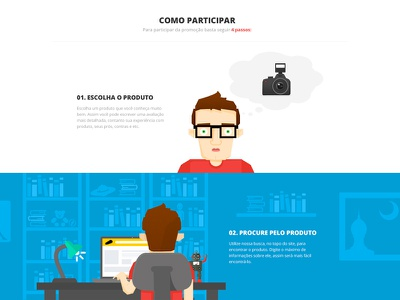 New Project Coming Soon illustration flat flat design webdesign color persona people blue camera landing page red