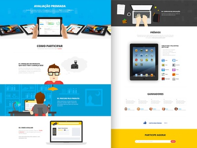 New Project Almost Done 2x available illustration persona blue red interface webdesign landingpage landing page camera ipad people