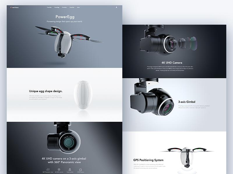 PowerEgg Web Design design web