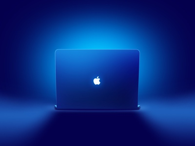 macbook pro light icon computer blue design ui