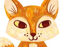 Finger Puppet Fox