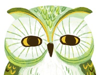 Finger puppet Owl
