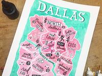 Dallas Neighborhood Map
