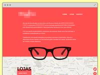 Eye ware - Landing Page
