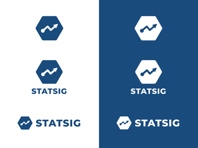 Statsig Logo Variations logo ux design ui
