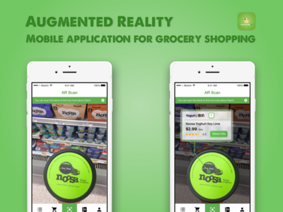Grocery HelpAR App - Augmented Reality Demo