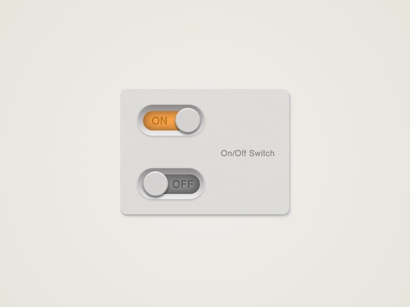 Daily UI Challenge #15 - On Off Switch toggle flat 3d web app switch design challenge ux ui daily