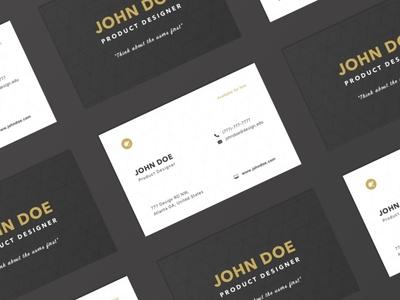 Designer Business Card 2d resume designer card business design ux ui