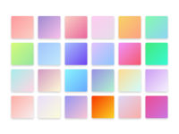 Pretty Gradients - Download them!