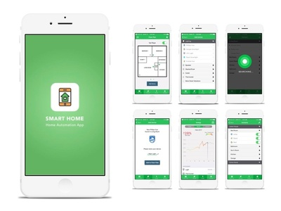 "Smart Home - App Design By Geunbae ""Gb"" Lee - Dribbble"