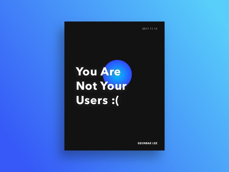Designer Quote Poster #1 booklet creative geometry layout ui typography color quote designer poster