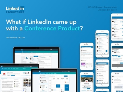 [Product Idea] LinkedIn Conference network social networking iphone web app conference linkedin idea product