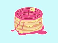 Dribbble is like Pancakes
