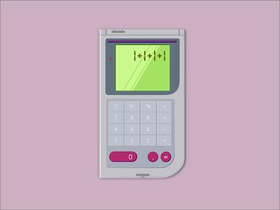Daily UI 004 Calculator nintendo gameboy 004 dailyui calculator