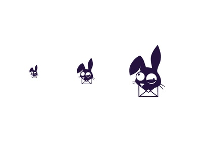 Twitchy Rabbit thirty logo challenge marketing email icon twitchy the rabbit twitchy rabbit logo design thirty logos challenge thirty logos