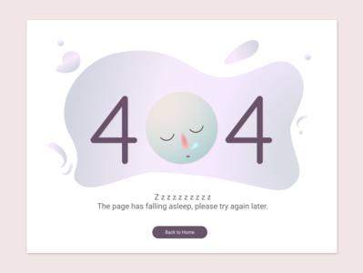 Daily UI 008 404 Error