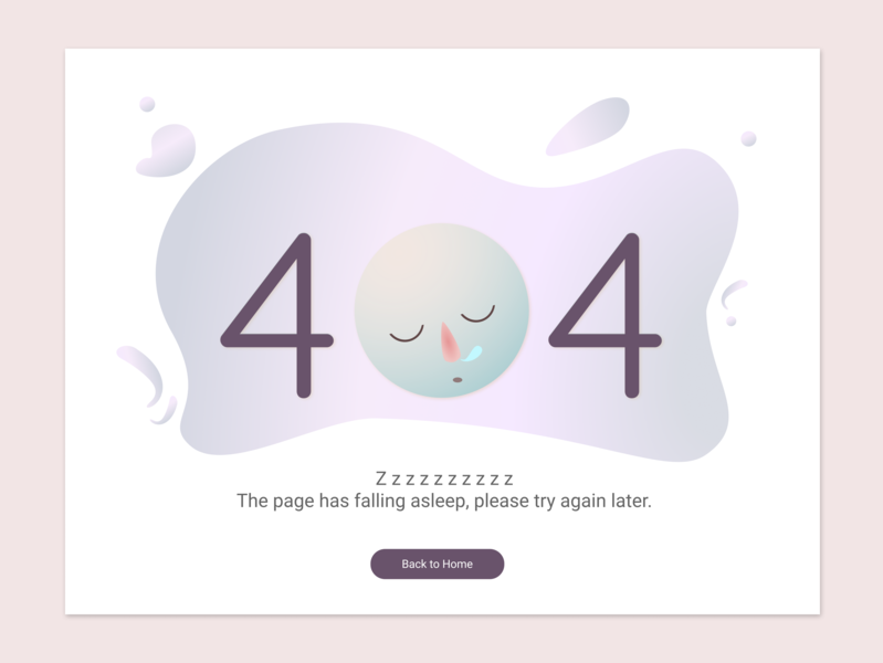 Daily UI 008 404 Error dailyuichallenge design figma ui 404 page 404 error 404 dailyui
