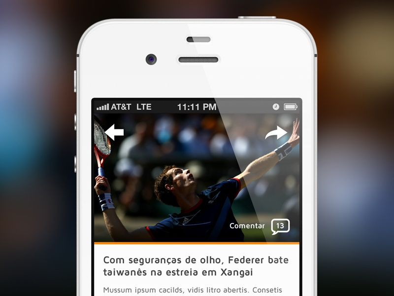 Article article ios mobile news share back button iphone