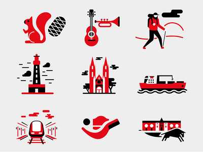 Pictos pictogramme icons