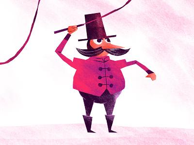 Dompteur circus character design