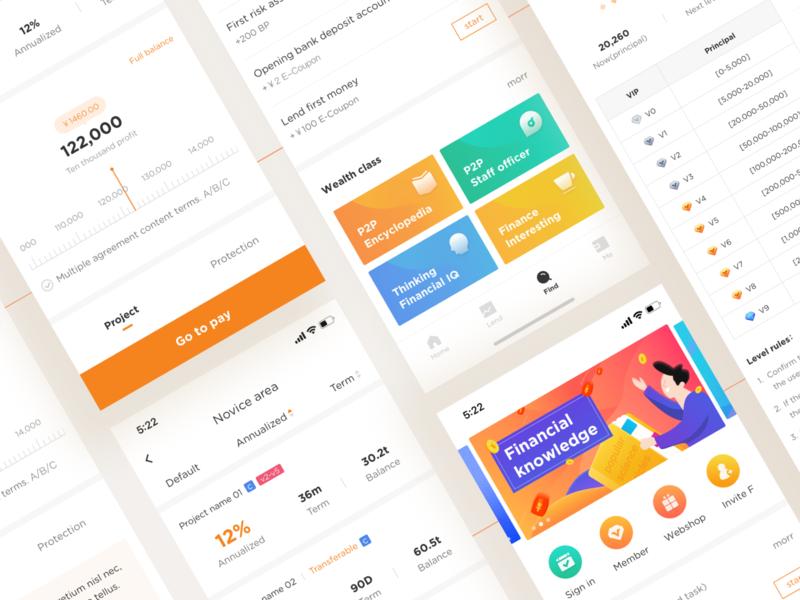 Finance App p2p finance app
