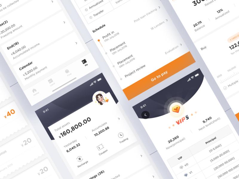 Finance App 2 p2p finance app